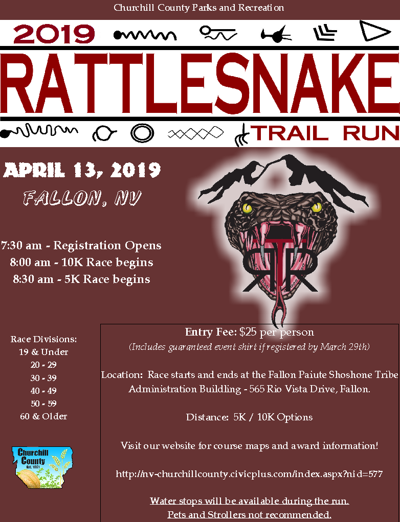 Rattlensnake Trail Run (2019) - Digital