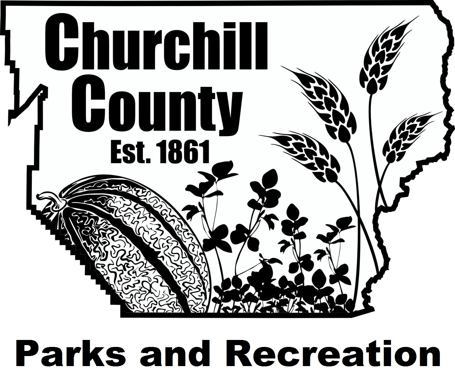 Churchill County Parks and Recreation Logo