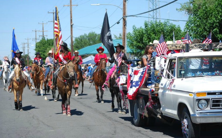 Horses in the 4th of July Parade