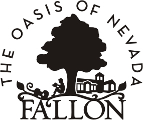 City of Fallon Logo - 2009 - Black and White