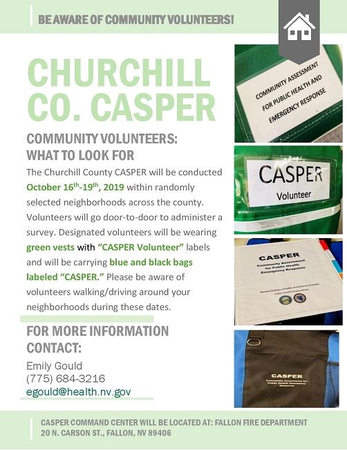 CASPER volunteers_what to look for