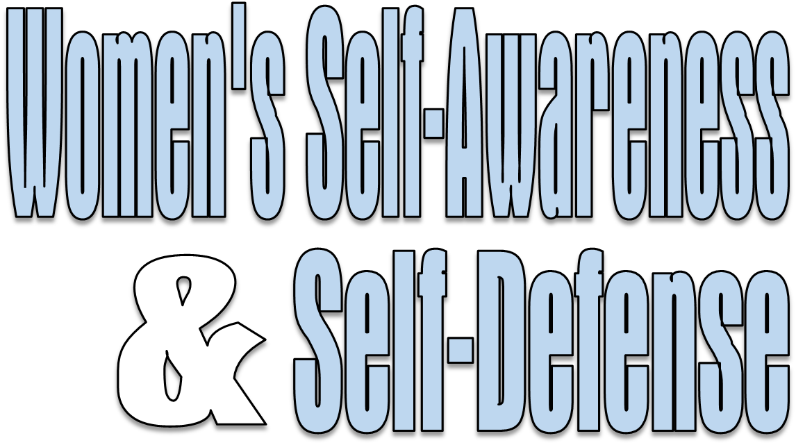 Womens Self Awareness and Self Defense Class Page Header