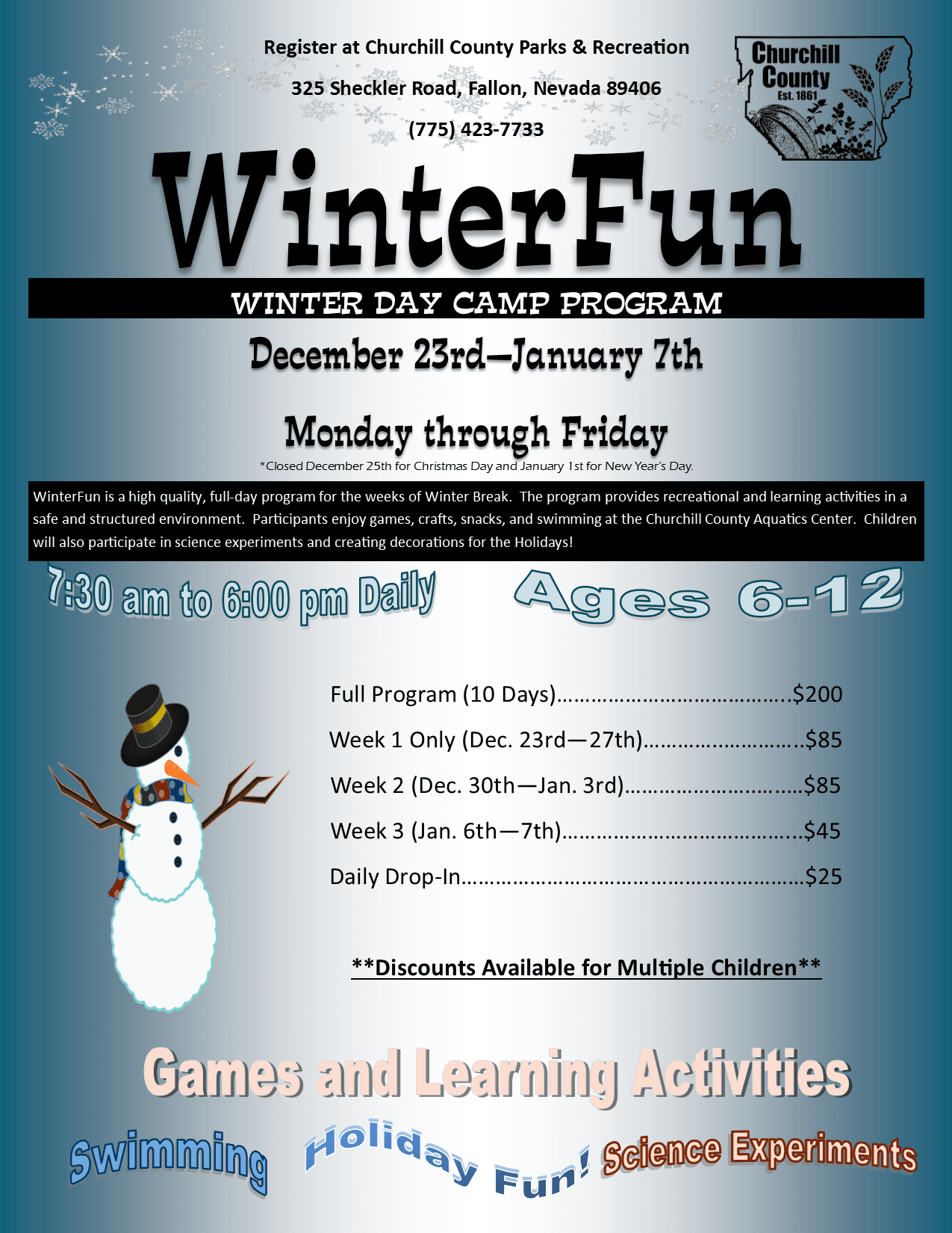 WinterFun (2019-2020) - Flyer