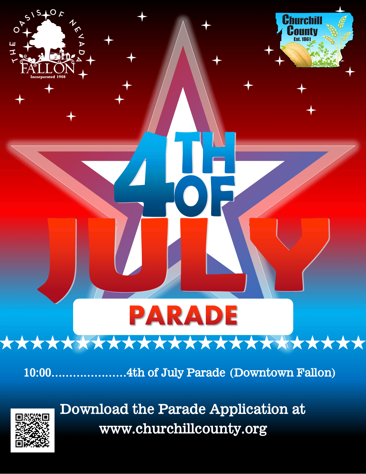 4th of July (2020) - Parade Flyer (Digital)