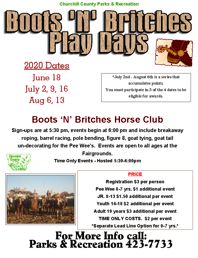 Boots N Britches (2020) - Flyer (Digital - Print)