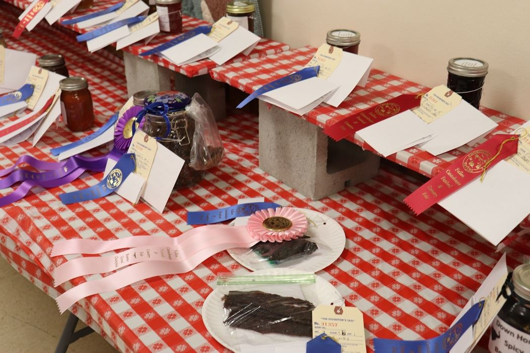 Baked goods fair winners
